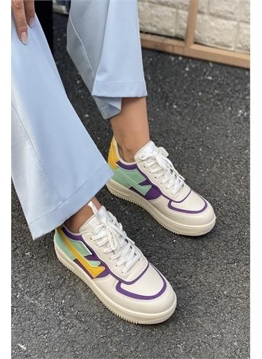 İnan Ayakkabı BAYAN AIR TABAN SNEAKER Beyaz